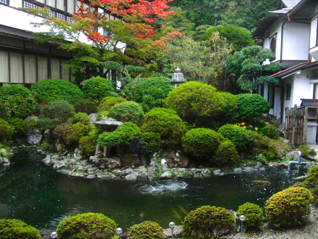 Interior Garden of Ryokan