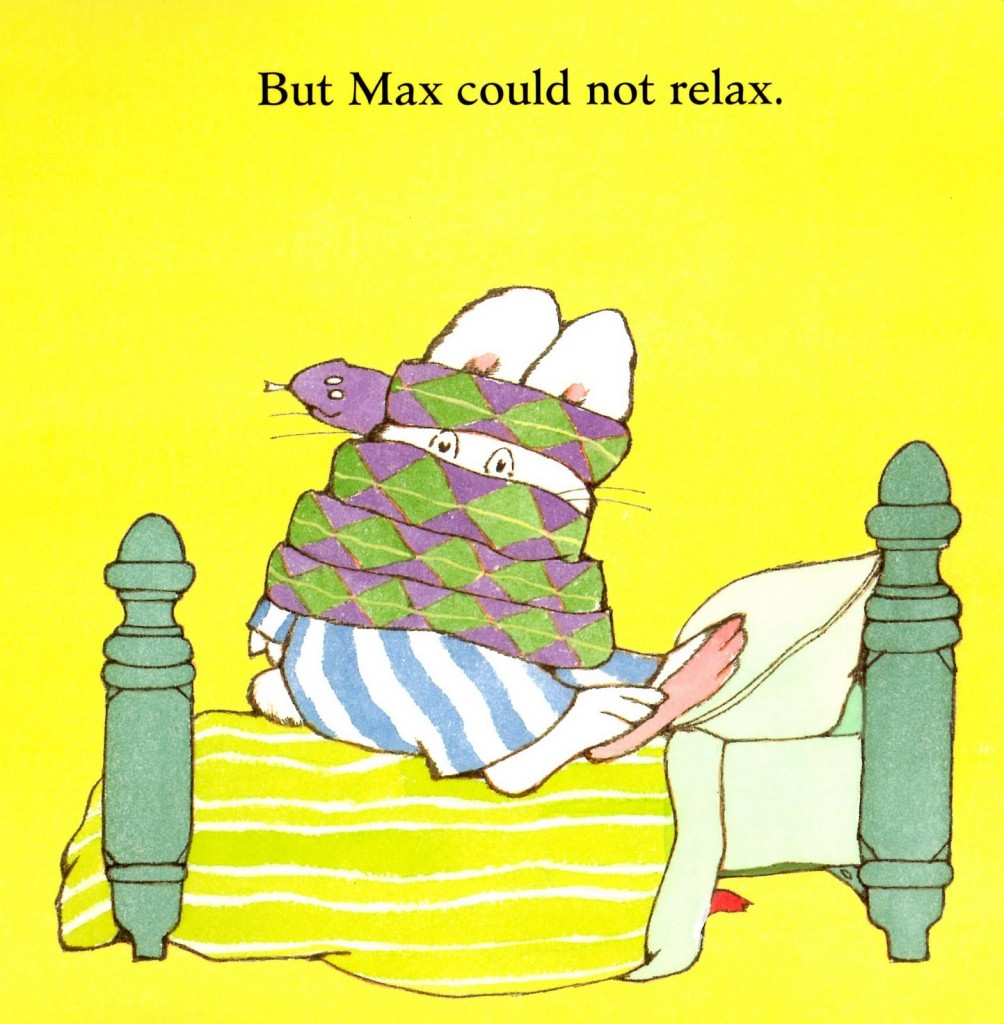 max could not relax